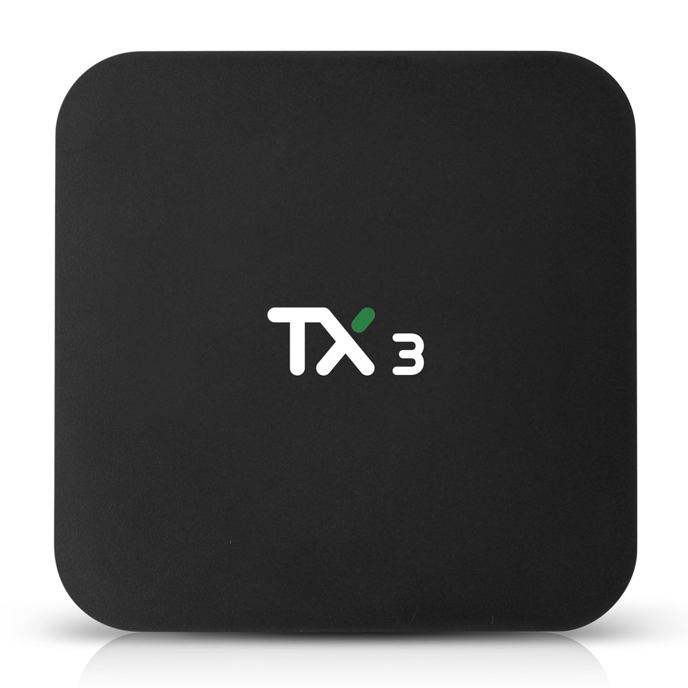 Tanix TX3 Smart Android TV Box S905X3 4GB RAM 64GB ROM 2.4G 5G WiFi  BT 4.0 Android 9.0 TV Box Support Voice Control Set Top Box