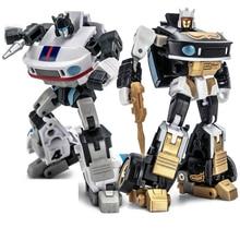 Newage NA Transformation JAZZ H2 H 2 H2G H 2G Capoeira Ricochet Mini poche guerre G1 figurine Robot jouets
