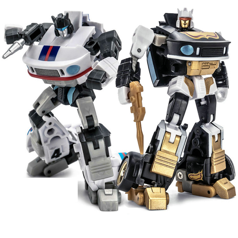 Newage NA <font><b>Transformation</b></font> JAZZ H2 H-<font><b>2</b></font> H2G H-2G Capoeira Ricochet Mini Pocket War G1 Action Figure Robot <font><b>Toys</b></font> image