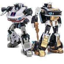 Newage na transformação jazz h2 H 2 h2g H 2G, mini robô capoeira, ricochet, bolso, guerra g1, figura de ação, brinquedos