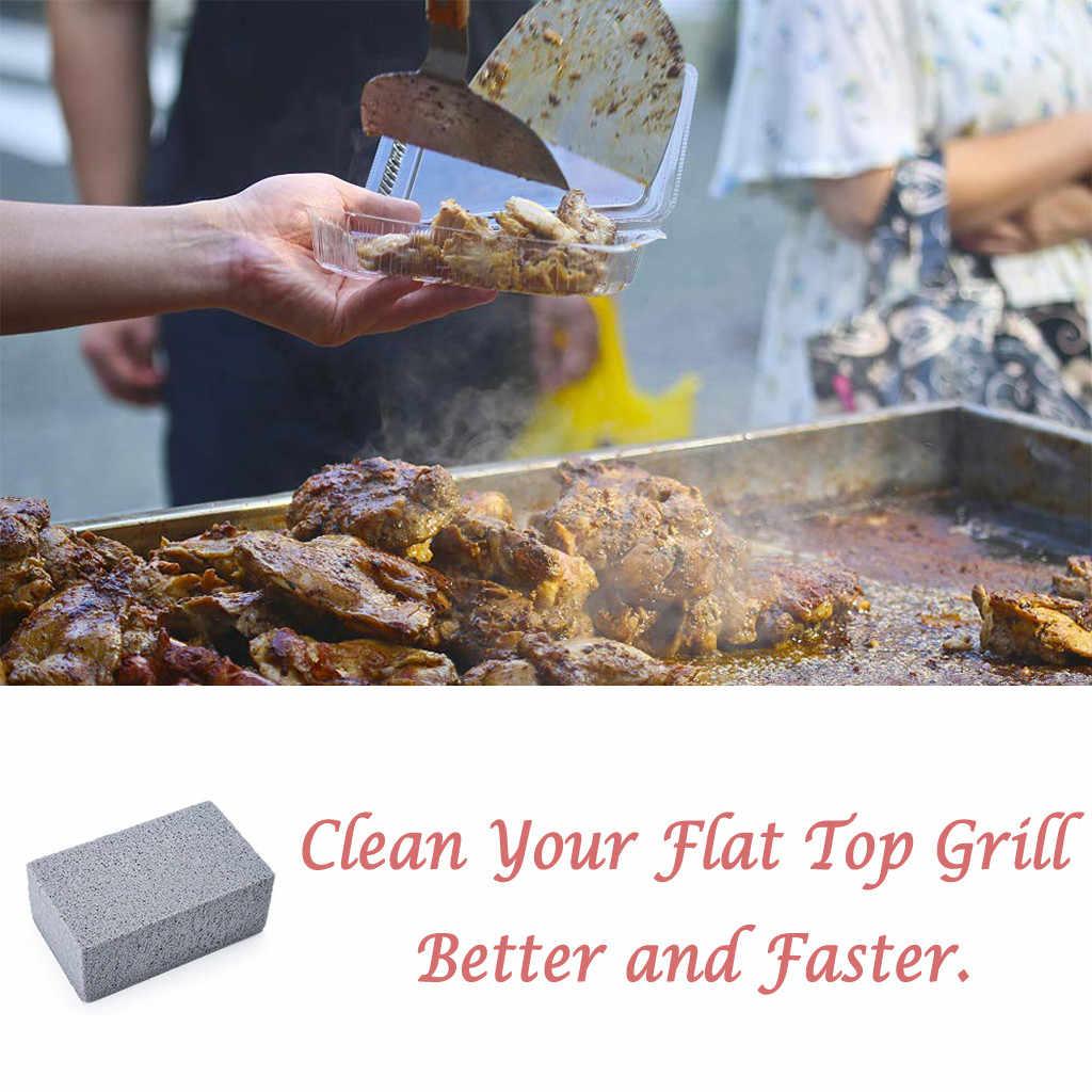 Productos de barbacoa al aire libre PARRILLA de ladrillo, parrilla/limpiador, rascador de barbacoa piedra de limpieza para barbacoa utensilios de cocina