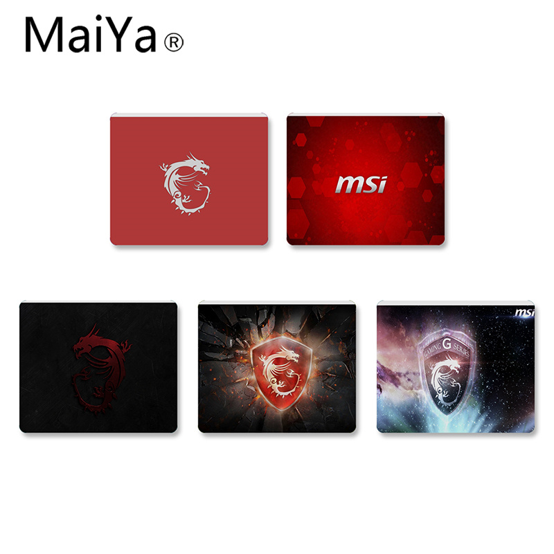 MaiYaCa New Arrivals Personalized Cool Fashion MSI  Anti-Slip Durable Computermats Size For 18x22cm 25x29cm Small Mousepad