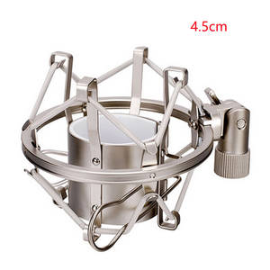 Broadcast-Clip Microphone Mic-Holder Shock-Mount Recording Spider-Condenser Studio Professional