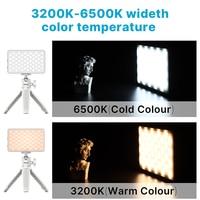 Vijim vl120 led video light 3200-6500k with diffuser rgb effect camera light vlog fill light photography lighting for video lamp