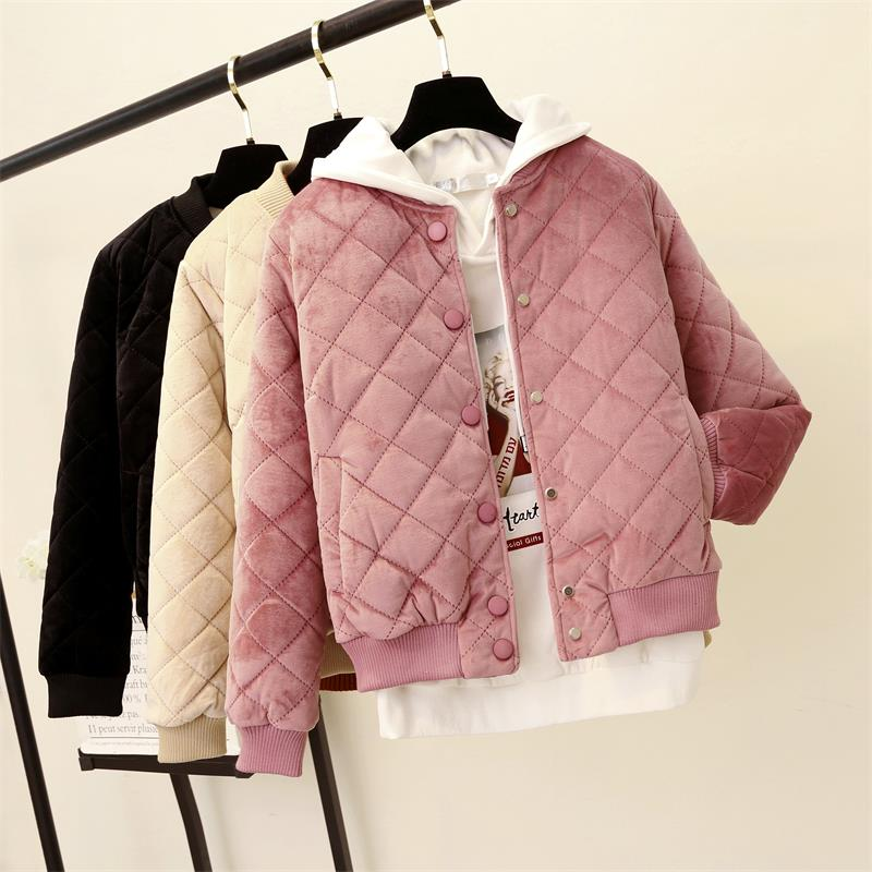 Jacket   Autumn Parkas women padded   jacket   coats pilot woman's   basic     jacket   clothing TJ20