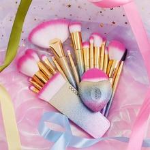 Docolor Fantasie Pinsel Professional Make Up pinsel set Foundation Powder Blushes Schönheit Make up pinsel Natürliche Synthetische haar