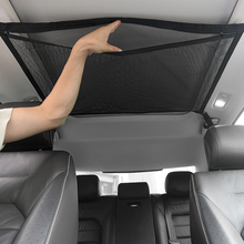 Mesh-Bag Car-Roof-Bag Cargo-Net Interior-Accessories Pocket Auto-Stowing SUV Tidying