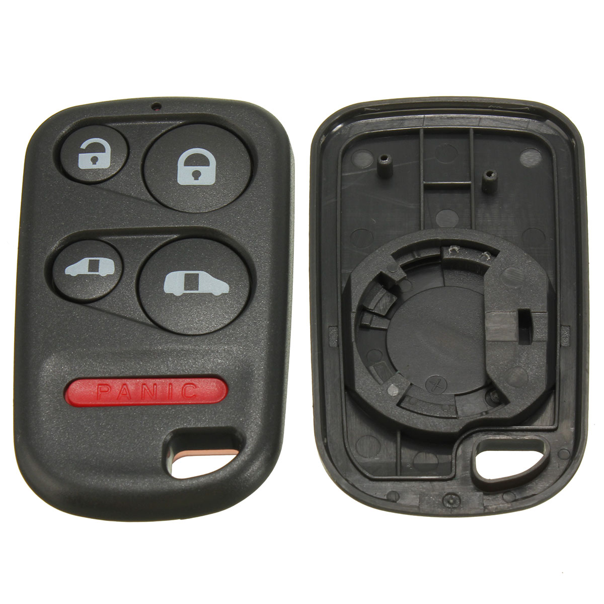 Auto Replacement 4+1 5 Buttons <font><b>Keyless</b></font> Entry <font><b>Remote</b></font> Car Key Shell Fob Case For <font><b>Honda</b></font> FOR Odyssey 2001 2002 2003 2004 image