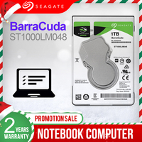 "Seagate 1TB 2.5"" Internal HDD Notebook Hard Disk Drive 7mm 5400RPM SATA 6Gb/s 128MB Cache  hdd For Laptop ST1000LM048