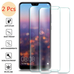 2Pcs Protective Glass On The For Huawei Y5 Y6 Y7 Y9 Prime 2018 Y 5 6 7 2017 Glass Screen Protect Huawey Huvai Cover Protect Film(China)
