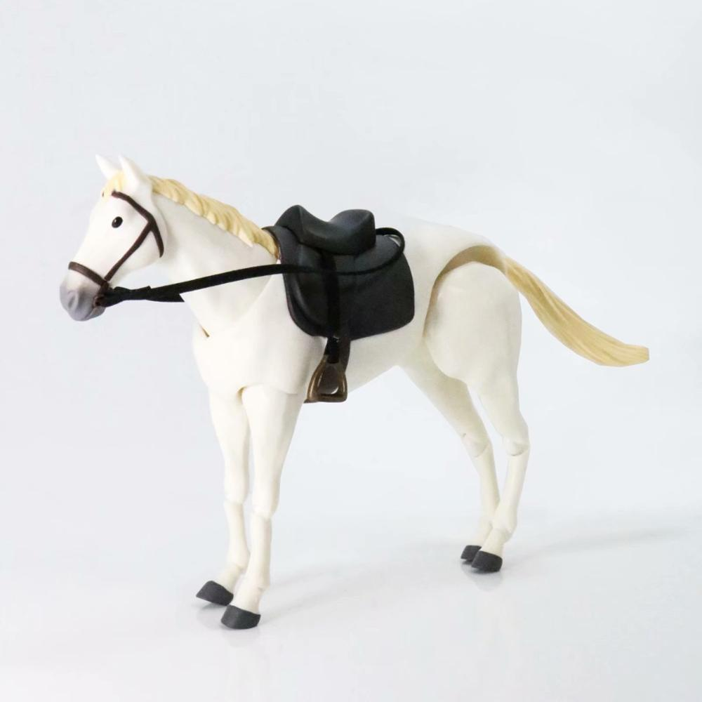 Figma <font><b>Horse</b></font> Movable body joint Action <font><b>Figure</b></font> Toy artist Art painting Anime model doll Mannequin Art Sketch Draw Animal body doll image