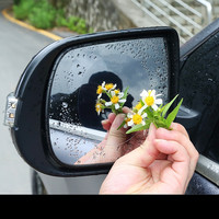 waterproof rain 2 Pcs/Set Car Mirror Window HD Clear Film Anti Fog Car Rearview Mirror Protective Film Waterproof Rain Car Sticker (3)