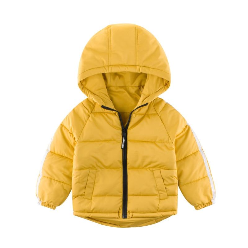 Autumn Winter Warm Jackets Girls Coats Boys Jackets Baby Girls Jackets Kids Hooded Outerwear Coat Children Clothes 3