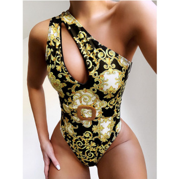 Leopard High Waist Swimsuit