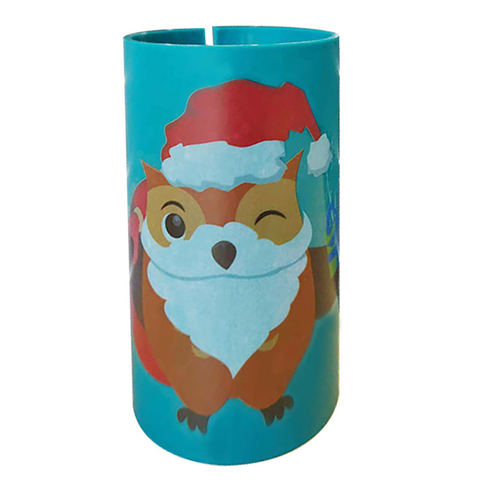 1PC Wrapping Paper Cutter Christmas Gift Cutting Tools Paper Die-Cut Tube Wrapping Cut Machines Christmas Holiday Gift For Safer