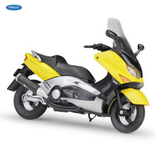 WELLY 1:18   2001 YAMAHA XP500 TMAX    Diecast Alloy Motorcycle Model Toy For Children Birthday Gift Toys Collection welly 1 18 yamaha yp240dx diecast alloy motorcycle model toy for children birthday gift toys collection