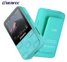 Ruizu MP3 плеер Bluetooth 4,0 HIFI мини клип MP3 музыкальный плеер с экраном Поддержка FM, часы, шагомер Поддержка до 128 ГБ SD карта