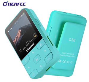 Ruizu MP3 Player Bluetooth 4.0HIFI Mini Clip MP3 Music Player with Screen Support FM,Clock,Pedometer Support up to128GB SD Card