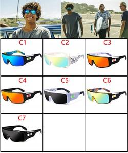 Image 2 - Viahda 2020 New Windproof Sunglasses Fashion Big Frame Brand Designer Women De Sol UV400 With Case