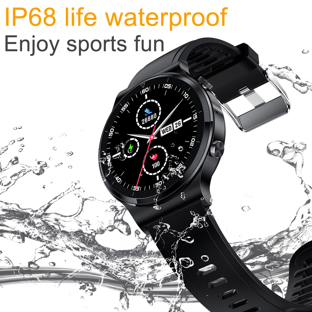New Bluetooth Call Smart Watch Men S 600 IP68 Waterproof Full Touch Screen Sports Fitness Smartwatch New Bluetooth Call Smart Watch Men S-600 IP68 Waterproof Full Touch Screen Sports Fitness Smartwatch Custom Face For Android IOS