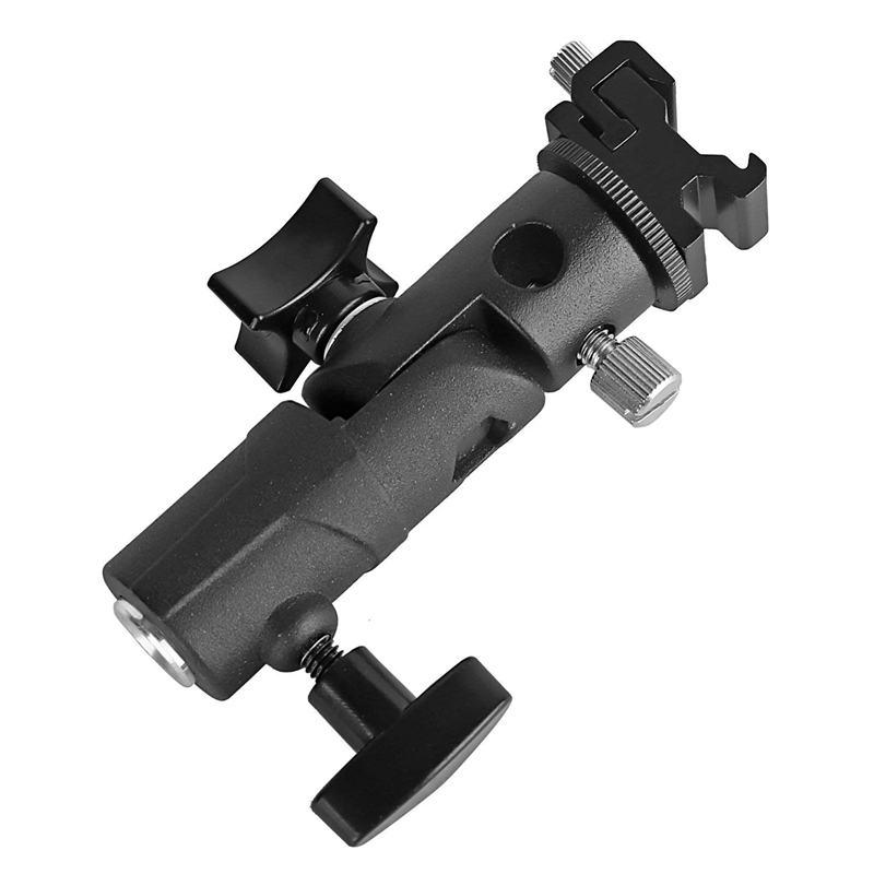 Bliț pentru cameră speedlite mount, suport rotativ profesional - Camera și fotografia - Fotografie 3