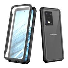 Açık kir dayanıklı toz geçirmez kılıf Samsung Galaxy not için 20 S20 artı durumda yumuşak silikon kapak için Samsung S20 ultra kabuk
