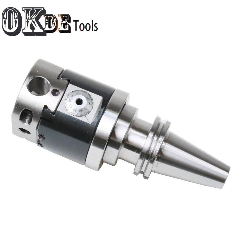 Hoge precisie SK40 NBH2084 CNC 0.01 run nout M16 micro tool met BT schacht NBH2084 systeem saai heads met 8 stuks boring bar - 4