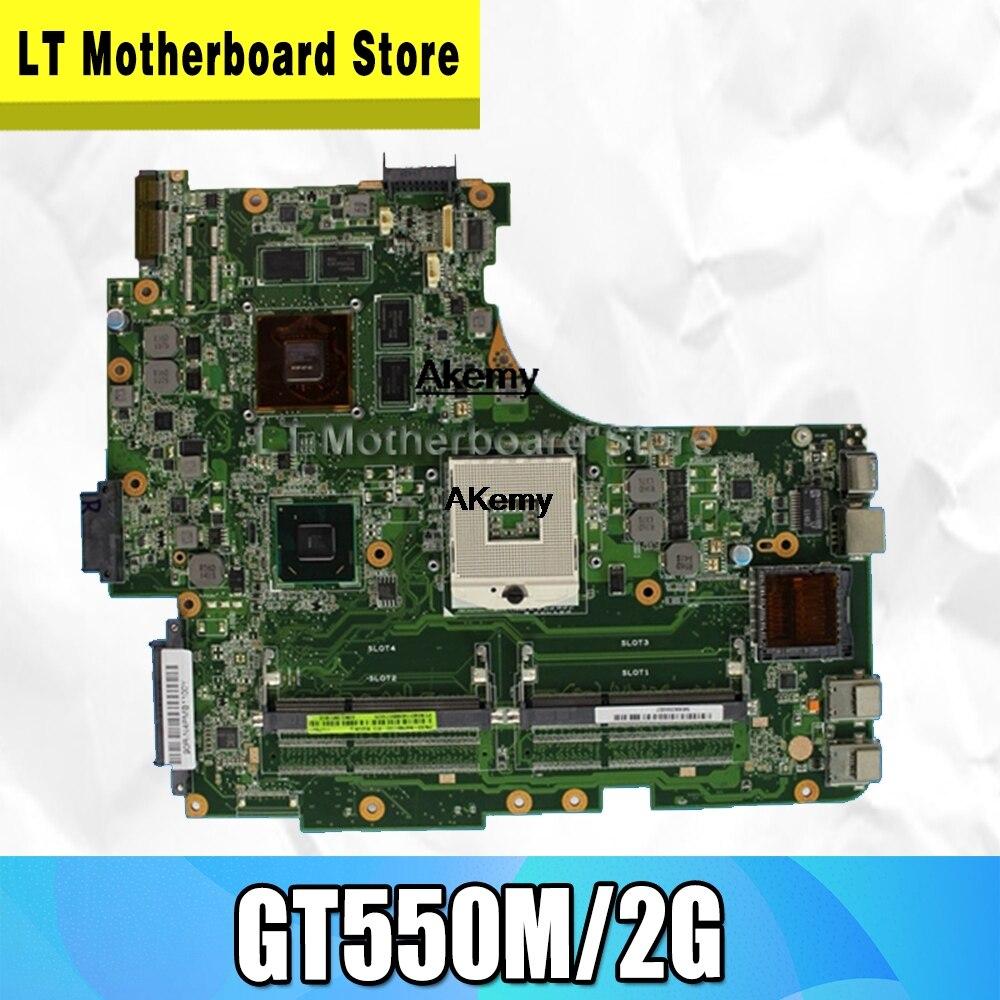 N53SM Motherboard 2*Slots GT550M/2G For ASUS N53S N53SV N53SN N53SM Laptop Motherboard N53SM Mainboard N53SM Motherboard Test OK