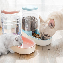3.8L Dog Water Dispenser For Cats Feeding Bowls Automatic Feeders Plastic Bottle Cat Bowl And Drinking