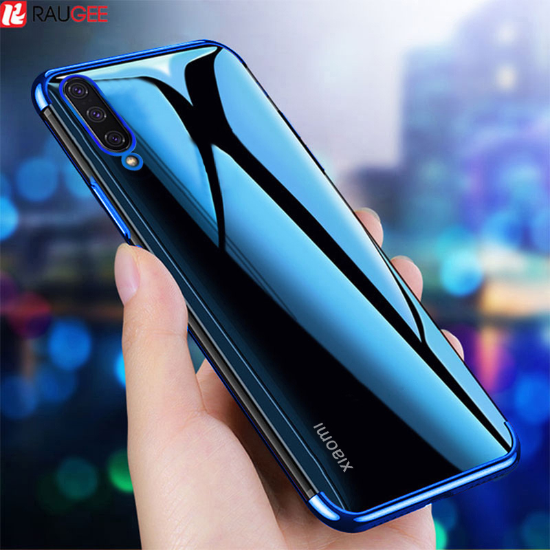 Case For Xiaomi Mi 9 Lite Case Luxury Bumper Transparent TPU Soft Cover On For Xiaomi CC9 Global Mi A3 Mi 9 Pro 5G Case