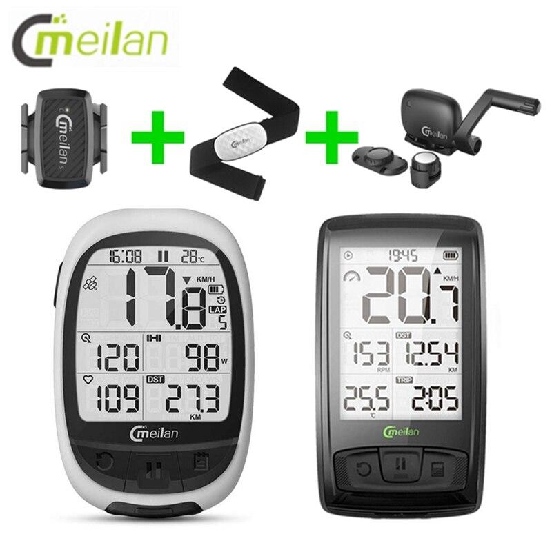 Bicycle Speed Cadence Sensor BT4.0 Wireless Meilan M2 M4 Bike Computer Speed Cadence Sport Heart Rate Monitor Cycling Computer|Bicycle Computer| |  - title=