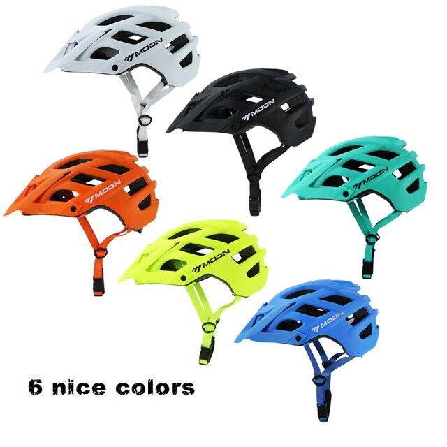 Mtb ciclismo capacete fora de estrada de montanha estrada capacete da bicicleta com viseira downhill racing equitação ao ar livre capacete de proteção casco ciclismo 2