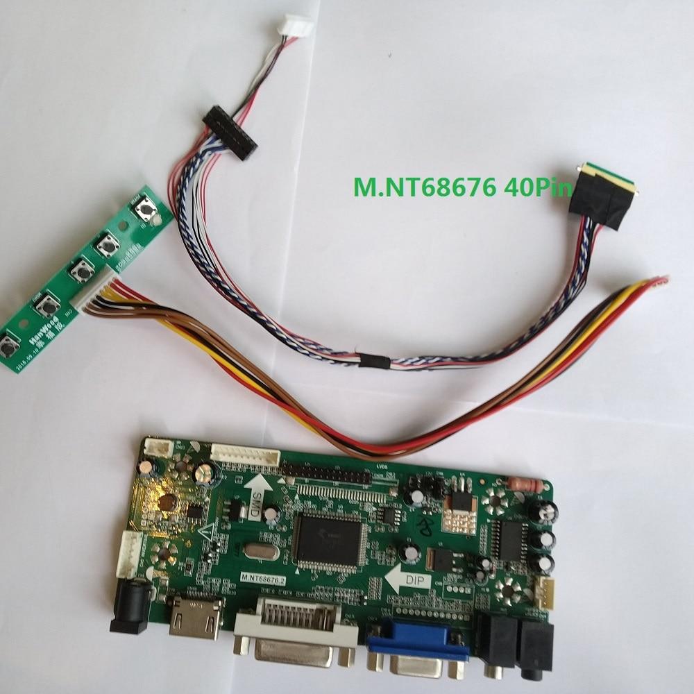 40pin HDMI DVI VGA LCD LED Controller Board Kit for LTN133AT23-001 1366X768
