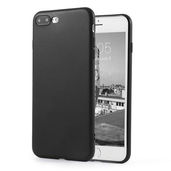 TPU Soft Matte Protective Case for iPhone 7 Plus Flexible Case Shock Absorption Impact & Drops Resistant Shockproof image