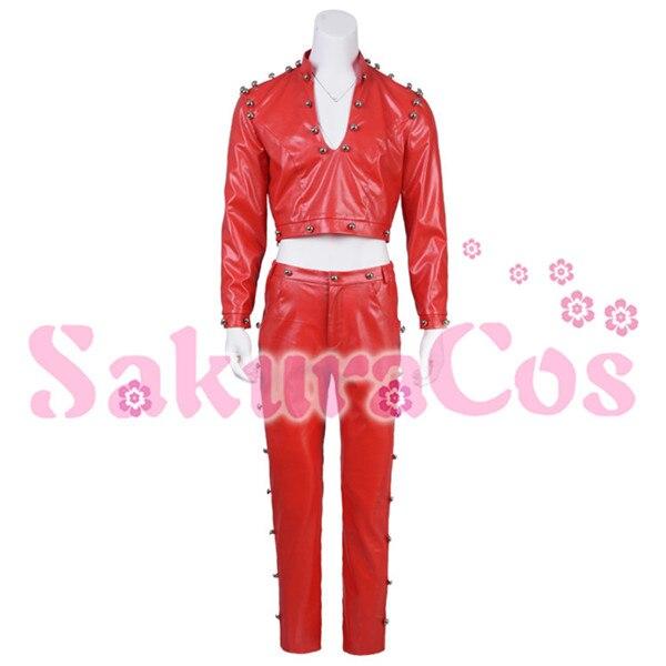 2019 горячая Распродажа, аниме «The Seven Deadly Sins ban», костюм для косплея, красный костюм из искусственной кожи, полный комплект