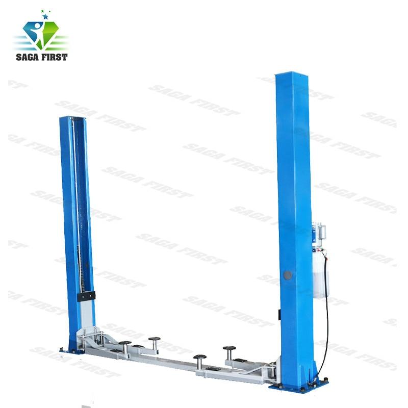 4.5 Tonne Capacity Floor Plate Type 2 Post Auto Lift