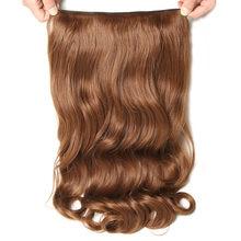 SAMBRAID przedłużanie włosów 24 Cal szydełkowane syntetyczne warkoczyki z włosów klip w jednym kawałku szydełkowe włosy 190g
