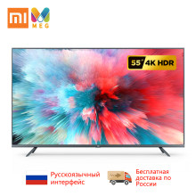 Television Xiaomi Mi TV Android Smart TV 4S 55 inches Full 4K HDR Screen TV Set WIFI Ultra-thin 2GB+8GB Dolby(China)