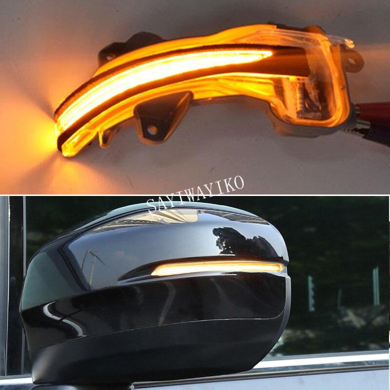 2 pièces clignotant LED dynamique pour Honda Fit Jazz ville HR-V CR-V ville grâce Accord ODYSSEY rétroviseur indicateur lampe
