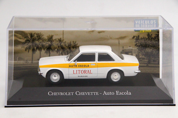 IXO 1:43 For Chevrolet Chevette Auto Escola Diecast Models Toys Car Collection Gift image