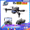 2021 New Kk1 Mini Drone 4k Hd Camera profesional Rc Drones Wifi Fpv Dron Toy Outdoor Rc Quadcopter Fixed height Helicopter Toys 1