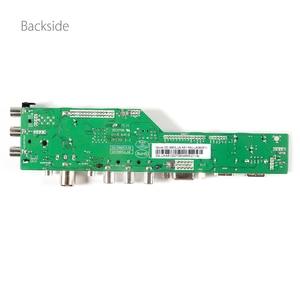 Image 5 - 3663 جديد الرقمية DVB C dvb t/T2 لوحة تحكم شاملة في التلفزيون الإل سي دي LED التلفزيون تحكم لوحة للقيادة 7 مفتاح زر الحديد يربك حامل 3463A الروسية