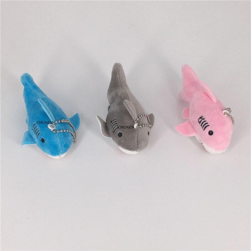 Multi Colors. 9CM Mini Plush Shark , Kid