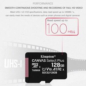Image 3 - Orijinal Kingston mikro SD kart hafıza kartı 128GB 64GB 32GB 16GB 32GB 64GB için Class10 TF kart MicroSDHC/SDXC UHS 1 8GB sınıf 4 MicroSD