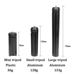 Metal Mini Tripod,Large Desktop Tabletop Stand for Zhiyun Smooth 4, DJI Osmo Mobile 2 3, Feuiyu,Gimbal Handle Grip Stabilizer