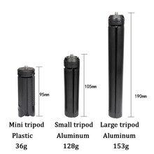 حامل معدني صغير ثلاثي القوائم لسطح المكتب لحامل Zhiyun السلس 4 ، DJI Osmo Mobile 2 3 ، Feuiyu ، مثبت مقبض Gimbal