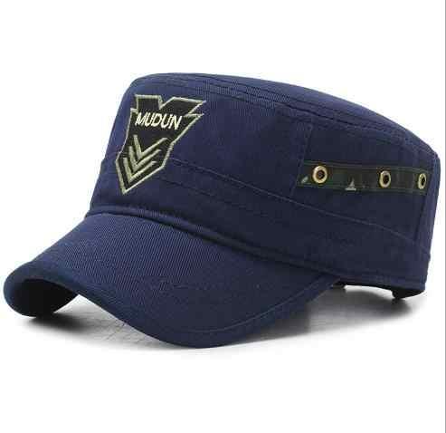 Gorra Newsboy us mudun gorra sombrero militar Golf conducir sombrero plano para hombres gorras hombre cowboy sombrero cubo gorras de béisbol