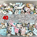 40 TEILE/LOS Gelegentliche Washi Band Sets Scrapbooking Masking Klebebänder Papier Japanischen Kawaii Schreibwaren Aufkleber Schule Liefert