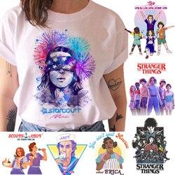 Странные Вещи Футболка женская Сезон 3 одиннадцать футболок графическая Одежда Женская вверх дном Женская футболка гранж смешные футболки