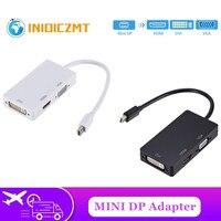 Cable adaptador de pantalla Mini DP 3 en 1 a HDMI/DVI/VGA, convertidor para Apple MacBook Air Pro mini dp